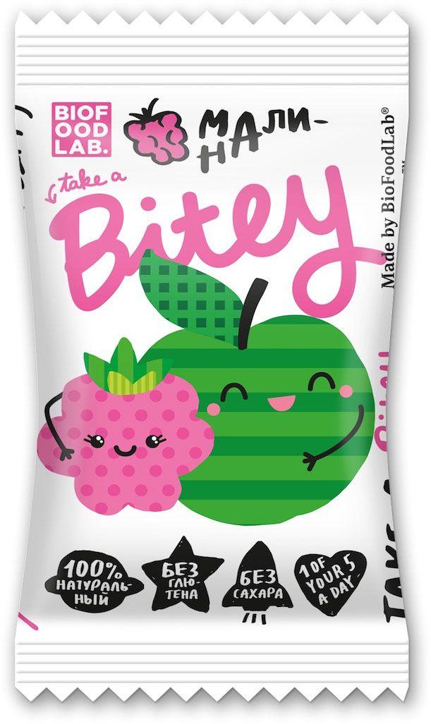 Take A Bitey Малина батончик орехово-фруктовый, 25 г4650062591037Абсолютно натуральный перекус из малины и яблок для маленьких открывателей. В каждом батончике удивительное сочетание полезных фруктов и ягод, которое придется по вкусу начинающим гурманам. Только фрукты, ягоды и злаки!