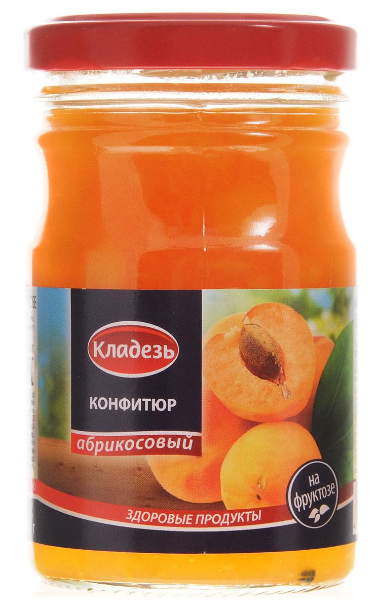 Кладезь конфитюр абрикосовый, 210 гнгк035Конфитюр Кладезь Абрикосовый на фруктозе. Диетический продукт питания для особенных потребностей людей, страдающих сахарным диабетом, соблюдающих специальную диету.