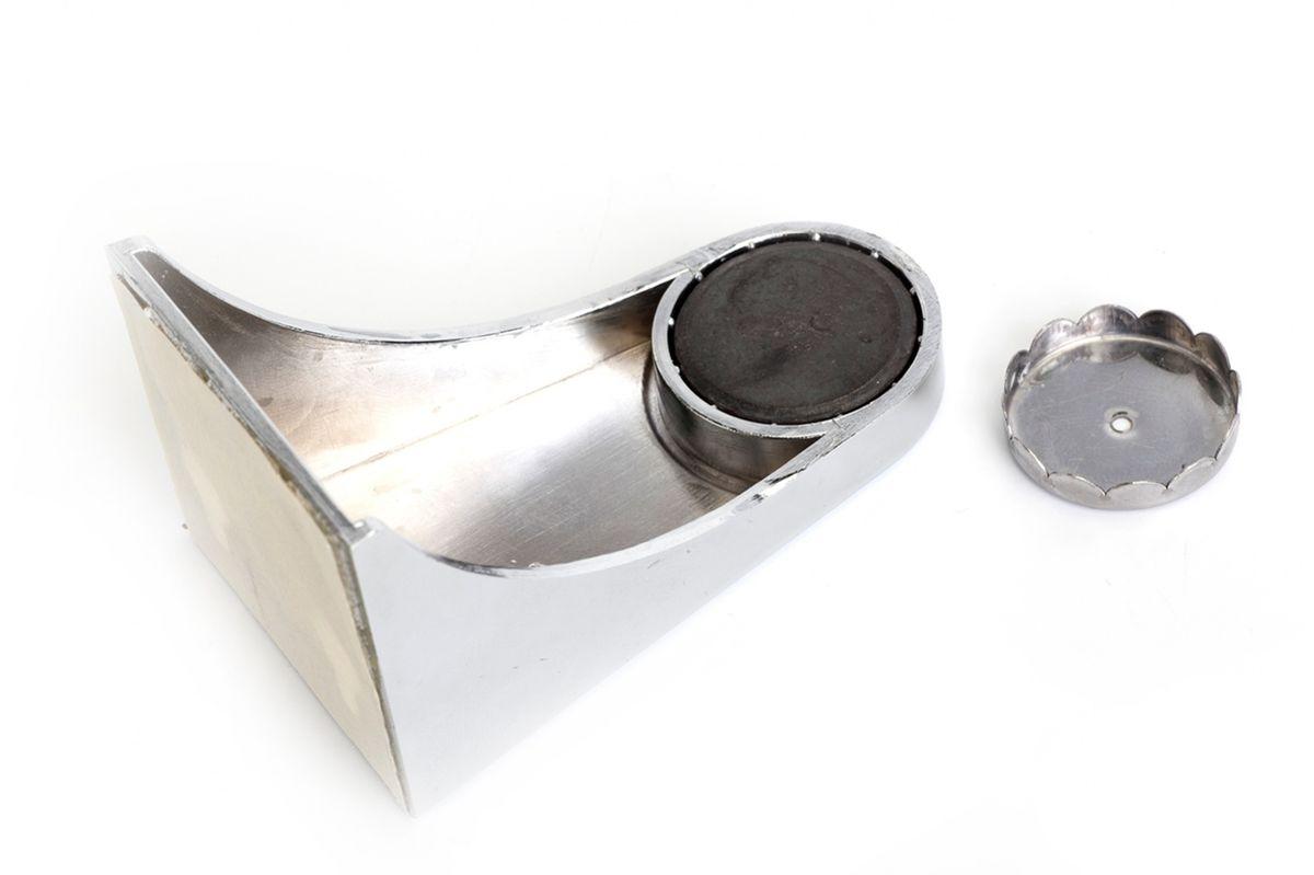 Мыльница магнитная Bradex ГигиенаTD 0368Надоело мыть руки размокшим мылом, которое вечно разваливается на куски? Раздражает закисшая вода в мыльнице и постоянные подтеки на раковине? Решите эту проблему раз и навсегда, установив магнитную мыльницу «Гигиена»! Оригинальное и функциональное приспособление имеет массу достоинств. • Оно обеспечивает максимальную гигиеничность: никакой закисшей воды, грибка и плесени. • Мыло сохнет в 4 раза быстрее, чем в обычной мыльнице, а значит, не размякает и не разваливается. • Мыльница легко устанавливается, удобна в уходе и отлично вписывается в современный дизайн ванной комнаты. • Приспособление выглядит эффектно и необычно, чем вызывает желание почаще мыть руки у подрастающего поколения. Магнитная мыльница «Гигиена»: изящное решение «мыльного вопроса»!