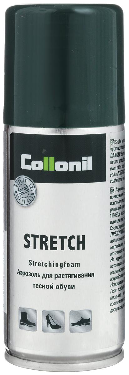 Спрей-растяжка для обуви Collonil Stretch, 100 мл1521 000Спрей Collonil Stretch предназначен для растяжки тесной обуви из всех видов кожи. Не образует пятен и контуров.