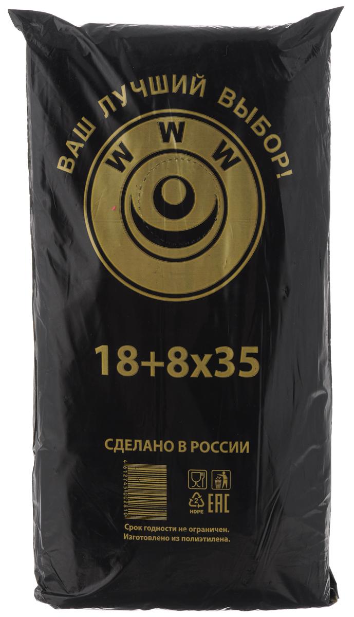 Пакет фасовочный Артпласт WWW, 18+8 х 35 см, 1000 штФНД17780Фасовочные пакеты Артпласт WWW - это пакеты без ручек, выполненные из ПНД (полиэтилена низкого давления). Такие пакеты являются практичными, экономичными и простыми. Фасовочные пакеты в основном используются для упаковки различных пищевых продуктов, а также упаковки некоторых видов товаров непродовольственной группы. Пакеты упакованы в пласт черного цвета с надписью: WWW (Ваш Лучший Выбор). Размер пакетов: 18 х 35 см; 26 х 35 см.