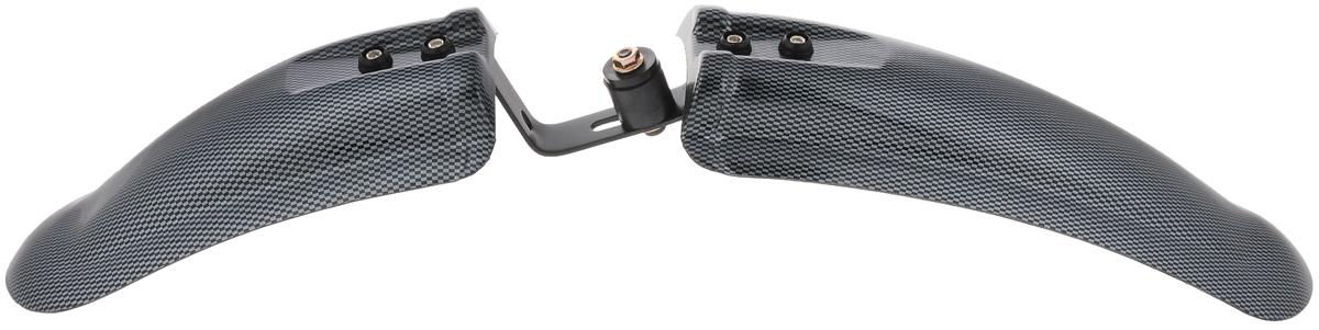 Крыло переднее V-Grip, 26CWF20026-FJKПереднее велосипедное крыло V-Grip выполнено из высококачественных материалов и обеспечивает надежную защиту от грязи и камней, вылетающих из-под колес, как при коротких поездках в черте города, так и в длительных марафонах за его пределами. Крыло с легкостью устанавливается в переднюю вилку с помощью болта, что гарантирует надежную фиксацию. Подходит для колес диаметром 26.