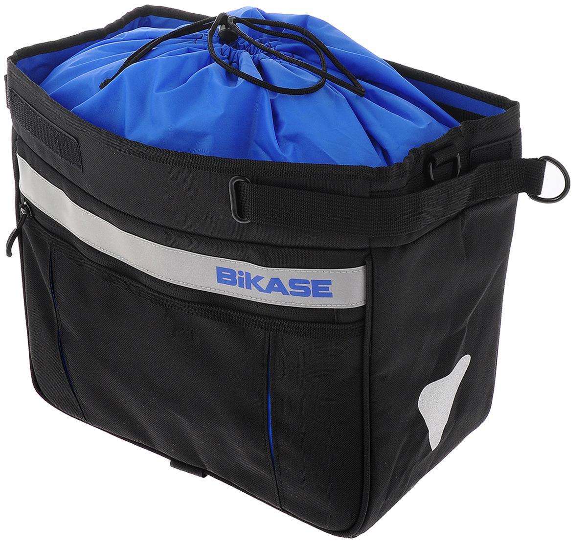 Раздвижная сумка на багажник BiKase