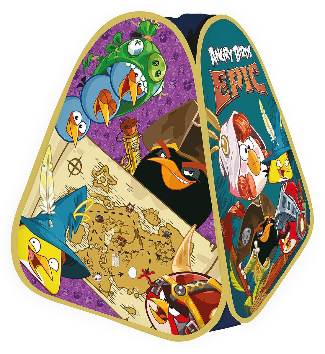 1TOY Детская игровая палатка Angry Birds Epic в сумке 90 х 80 х 80 смТ575081TOY Angry Birds Epic детская игровая палатка в сумке 90х80х80см