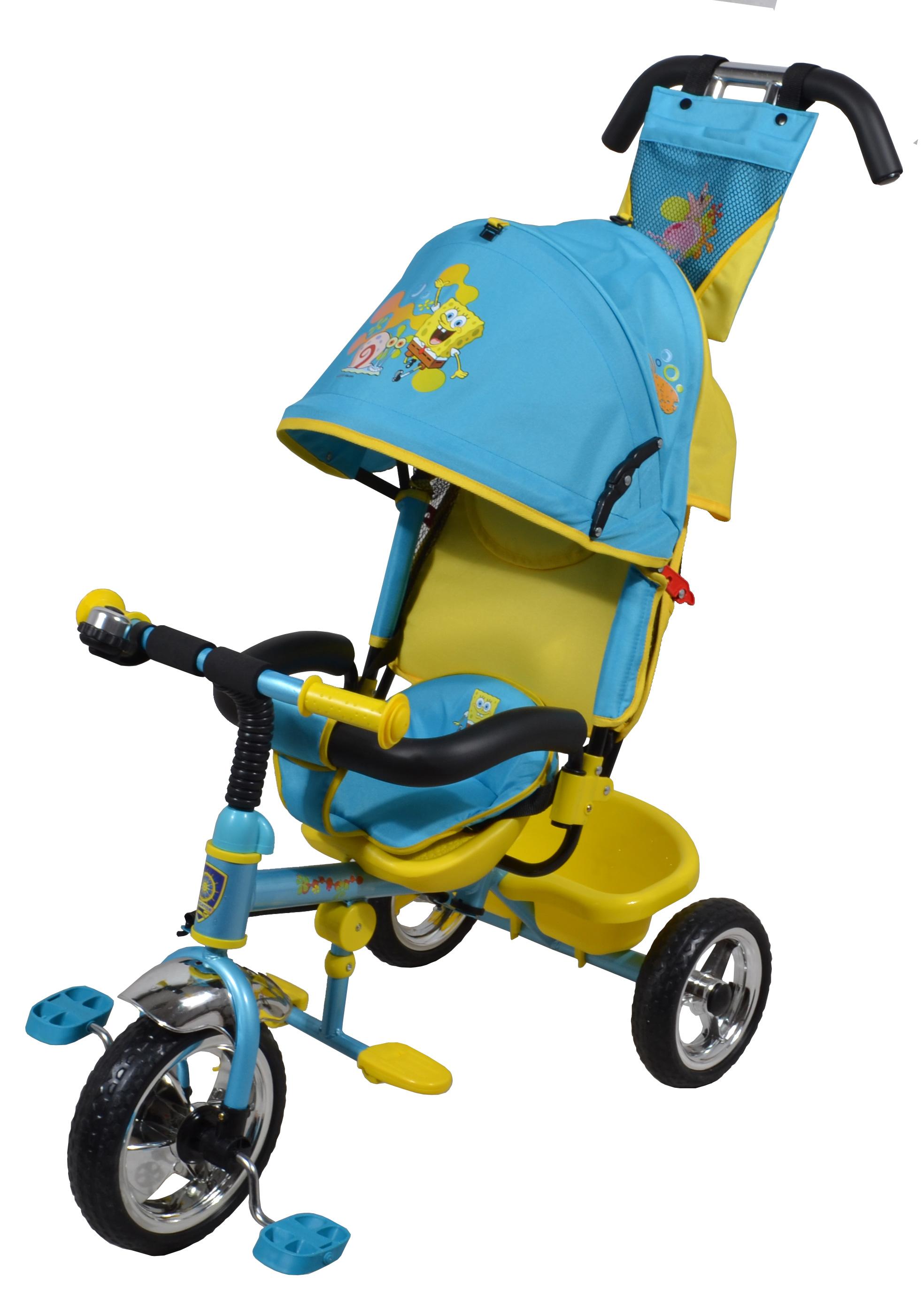 Navigator Трехколесный велосипед Lexus Губка БобТ57593Популярная модель детского трехколесного велосипеда с ярким дизайном и популярной лицензией Губка Боб. Велосипед снабжен ручкой управления для родителей.