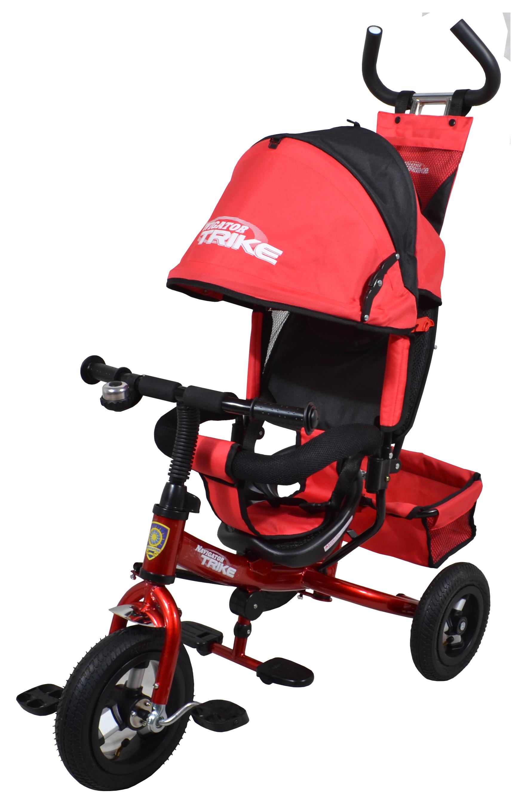 Navigator Трехколесный велосипед Lexus красный черныйТ57600Популярная модель детского трехколесного велосипеда с ярким дизайном мальчиков для девочек. Велосипед снабжен ручкой управления для родителей.