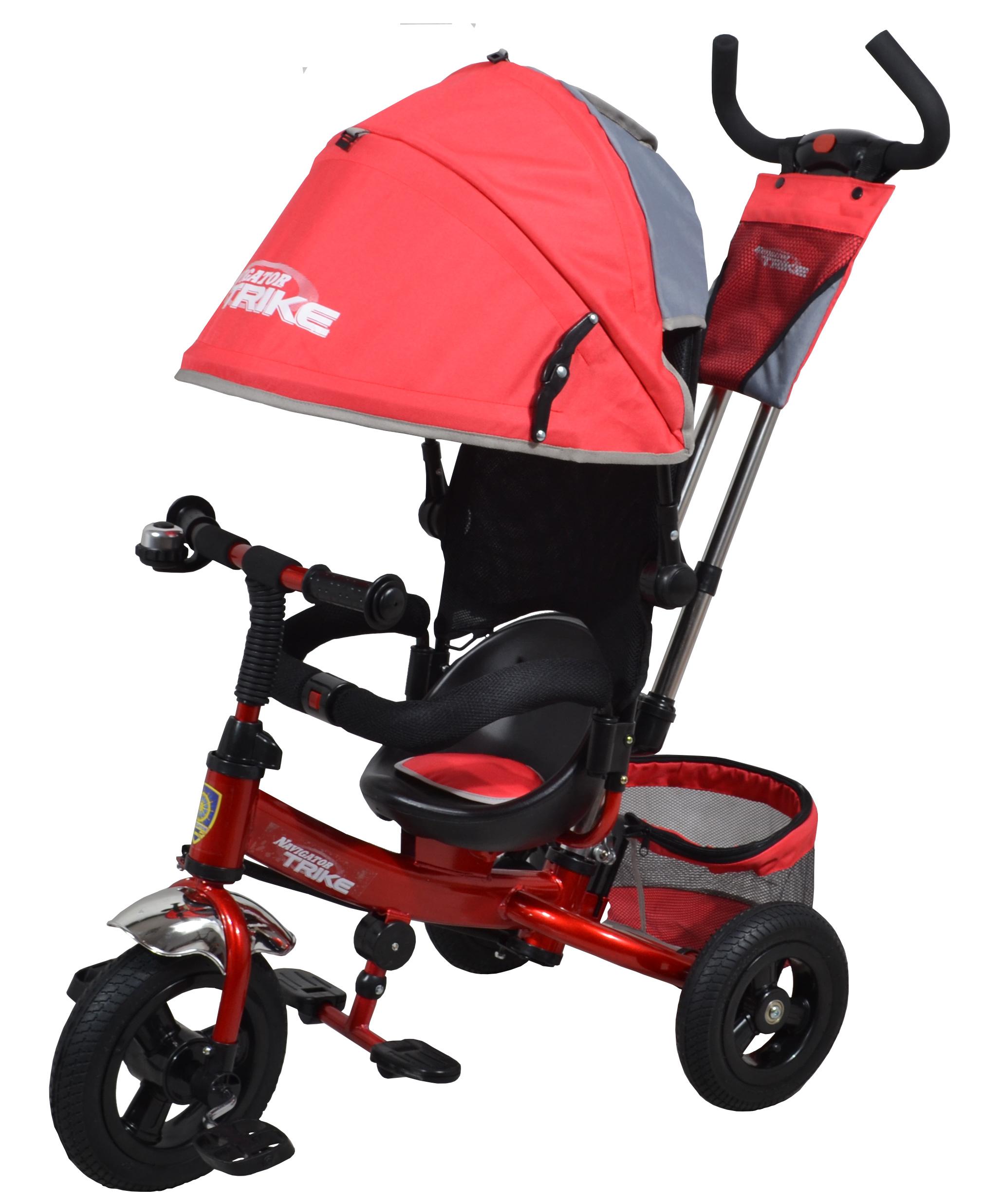 Navigator Трехколесный велосипед Lexus красный серыйТ57636Популярная модель детского трехколесного велосипеда с ярким дизайном. Велосипед снабжен ручкой управления для родителей.