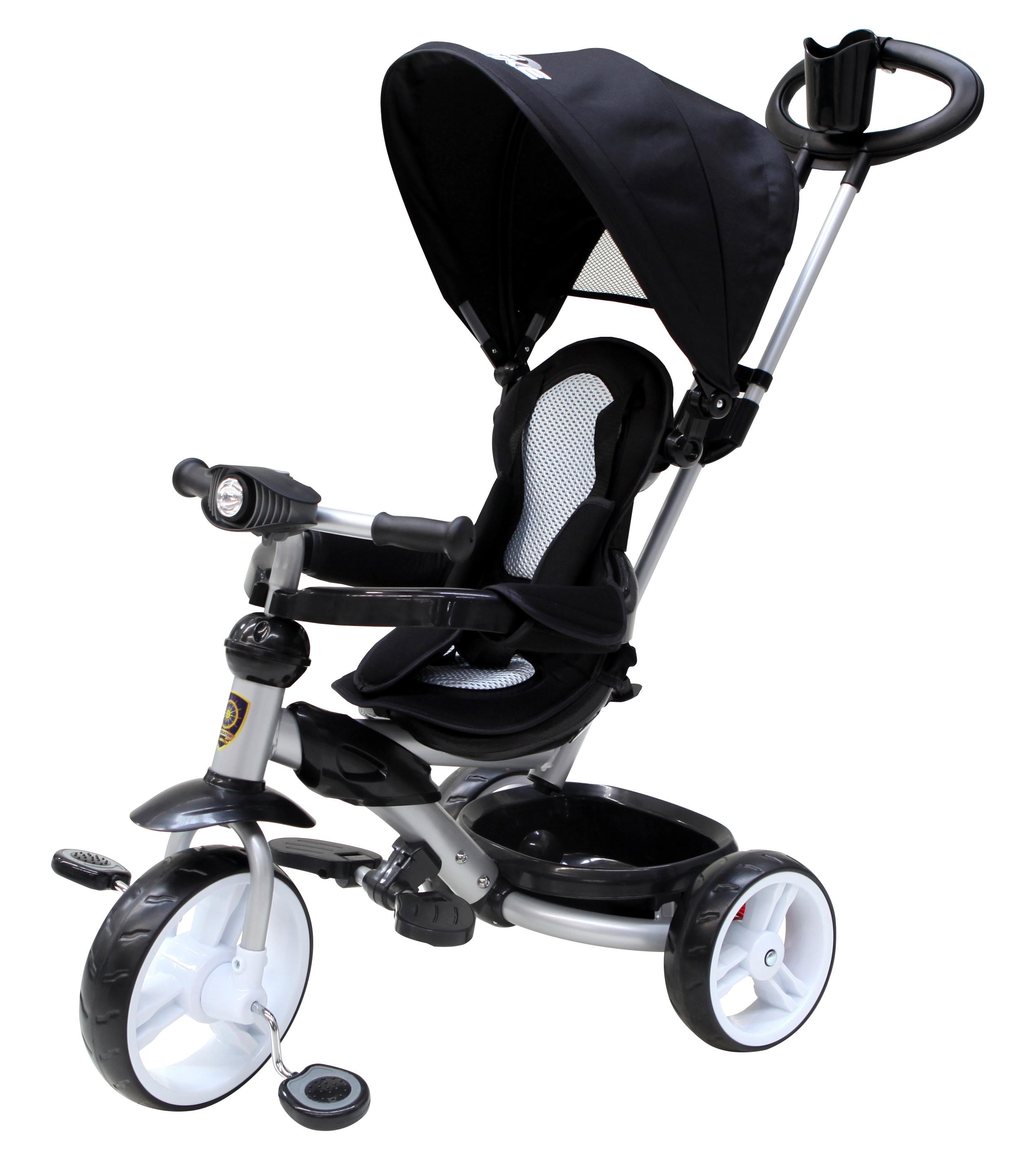 Navigator Трехколесный велосипед Lexus цвет черныйТ58449Популярная модель детского трехколесного велосипеда с ярким дизайном. Велосипед снабжен ручкой управления для родителей.