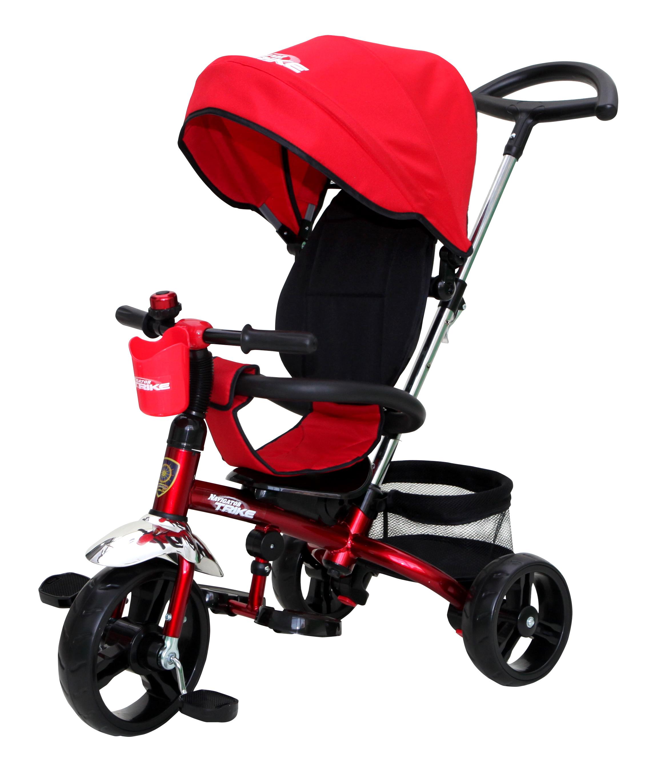 Navigator Трехколесный велосипед Lexus цвет черный красныйТ58451Популярная модель детского трехколесного велосипеда с ярким дизайном. Велосипед снабжен ручкой управления для родителей.