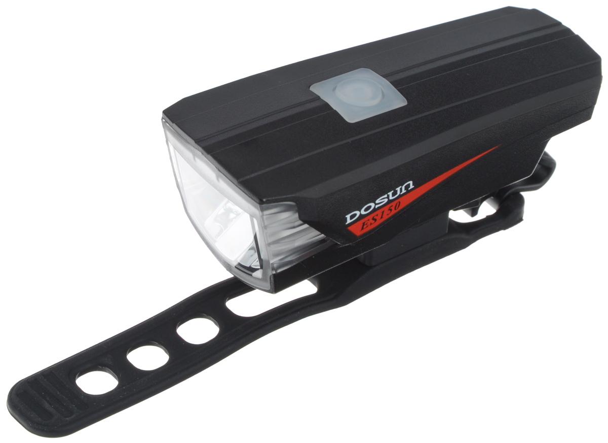 Передний габаритный фонарь Dosun ES150, с зарядкой от USBES150/5060Передний габаритный фонарь Dosun ES150 сделает ваш велосипед более заметным в темное время суток. Корпус модели имеет изысканные обтекаемые формы. С помощью регулируемого силиконового ремешка фонарь с легкостью крепится на руль велосипеда без каких-либо инструментов, при необходимости его также можно зафиксировать на рюкзаке и других предметах. Фонарь работает в трех различных режимах: сильное освещение, слабое освещение, мигание. 150 люменов освещения дают райдеру возможность наслаждаться скоростью в темное время суток. Встроенный аккумулятор заряжается с помощью USB-кабеля. Емкость аккумулятора: 1160 mAh Li-ion Polymer. Время зарядки: 3 часа. Диаметр штанги руля: 20-40 мм.