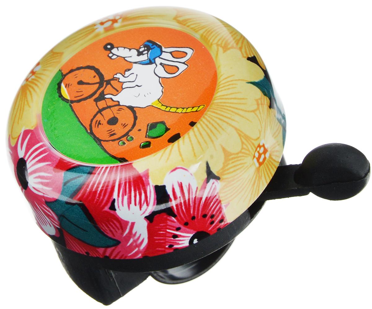 Звонок велосипедный Odinn МышьJH-800A0/13008Звонок Odinn Мышь крепится на руль велосипеда и позволяет привлечь внимание в любой ситуации. Он не оставит равнодушным юного велосипедиста. Звонок выполнен из высокопрочных материалов, долговечен в использовании. Декорирован ярким рисунком. Основным назначением звонка является предотвращения столкновения, как на дорогах общего пользования, так и на тротуарах. Диаметр звонка: 5 см.