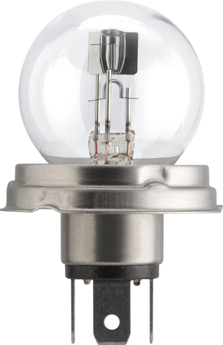 Лампа автомобильная галогенная Philips Vision, сигнальная, цоколь R2 (P45t), 12V, 45/40W. 12620C112620C1Автомобильная лампа Philips Vision изготовлена из запатентованного кварцевого стекла с УФ-фильтром Philips Quartz Glass. Кварцевое стекло в отличие от обычного стекла выдерживает гораздо большее давление и больший перепад температур. При попадании влаги на работающую лампу, лампа не взрывается и продолжает работать. Лампа Philips Vision производит на 30% больше света по сравнению со стандартной лампой, благодаря чему стоп-сигналы или указатели поворота будут заметны с большего расстояния. Лампа Philips Vision отличается высокой эффективностью, соответствуя всем современным требованиям.
