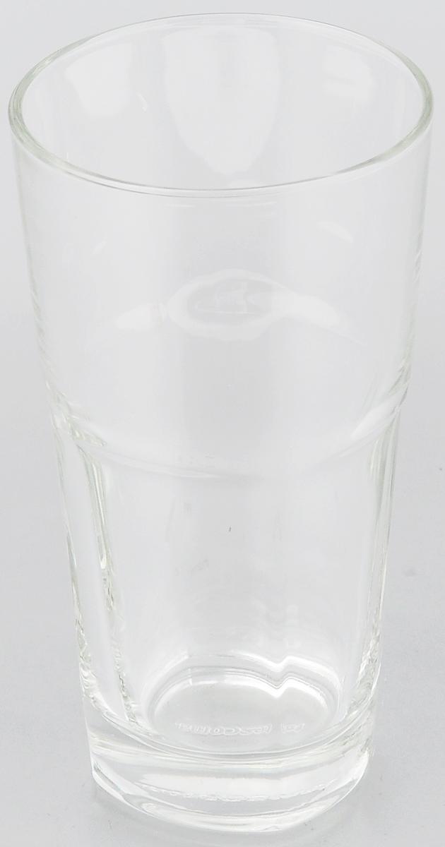 Стакан Tescoma Julia, 350 мл306020Стакан Tescoma Julia изготовлен из прочного прозрачного стекла. Такой стакан прекрасно дополнит сервировку стола и порадует вас практичностью и классическим дизайном. Изделие можно мыть в посудомоечной машине. Диаметр (по верхнему краю): 7,5 см. Высота: 14,5 см.