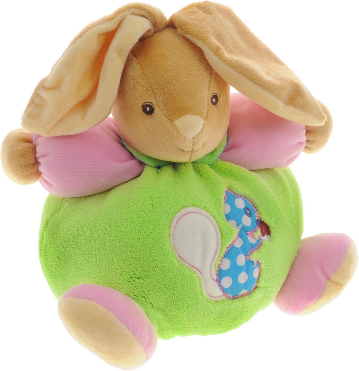 Kaloo Мягкая игрушка Заяц Белка 22 смK963252Красочный мягкий зайчонок Kaloo надолго станет постоянным спутником малыша и его любимой игрушкой. Игрушка Заяц Белка выполнена из качественных и безопасных для здоровья детей материалов, которые не вызывают аллергии, приятны на ощупь и доставляют большое удовольствие во время игр. Игрушку приятно держать в руках, прижимать к себе и придумывать разнообразные игры. Внутри игрушки находится погремушка, которая успокоит малыша и привлечет его внимание. Игры с мягкими игрушками развивают тактильную чувствительность и сенсорное восприятие. Игрушка поставляется в стильной коробке и идеально подходит в качестве подарка.