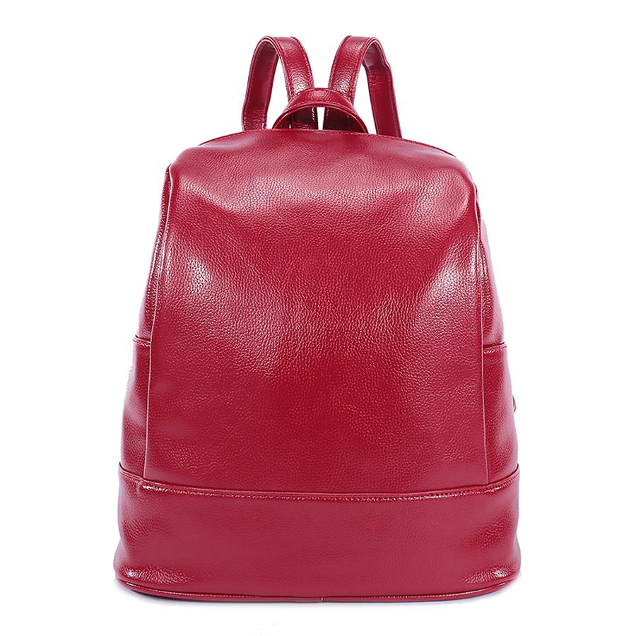 Рюкзак женский Ors Oro, цвет: красный. D-180/25D-180/25Рюкзак с одним отделением, на молнии, два плоских боковых карманана. Внутренний карман на молнии, карман для телефона, задний карман на молнии, карман под iPad