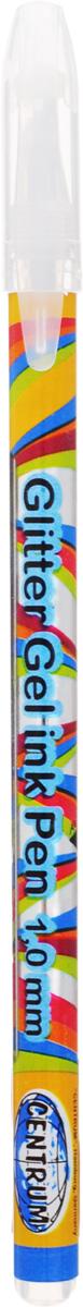 Ручка гелевая серебро PLASMA с металлическим наконечником 0,8 мм в прозрачном корпусе с пластиковыми вставками, клип в цвет чернил. 12 шт.80848О