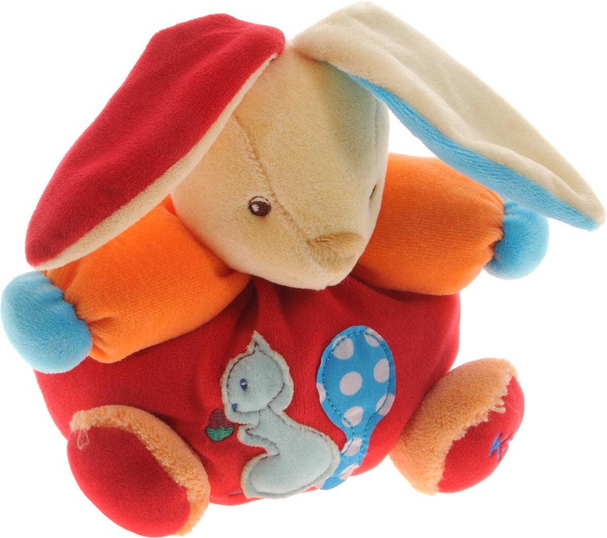 Kaloo Мягкая игрушка Заяц Белочка 15 смK963259Красочная мягкая игрушка Kaloo Заяц. Белочка надолго станет постоянным спутником малыша и его любимой игрушкой. Изделие выполнено из мягкого материала различных цветов. На животике зайчонка имеется аппликация в виде белочки, на лапке зайчика вышит фирменный логотип Kaloo. Игры с мягкими игрушками развивают тактильную чувствительность и сенсорное восприятие. После стирки изделие не деформируется и не меняет внешний вид. Все игрушки Kaloo прошли множественные тесты и соответствуют мировым стандартам безопасности. Именно поэтому игрушки рекомендованы для детей с рождения, что отличает их от большинства производителей мягких игрушек. Дизайнеры Kaloo продумывают и придают значение каждому этапу в производстве игрушек, начиная от эскиза и заканчивая упаковкой готового изделия.