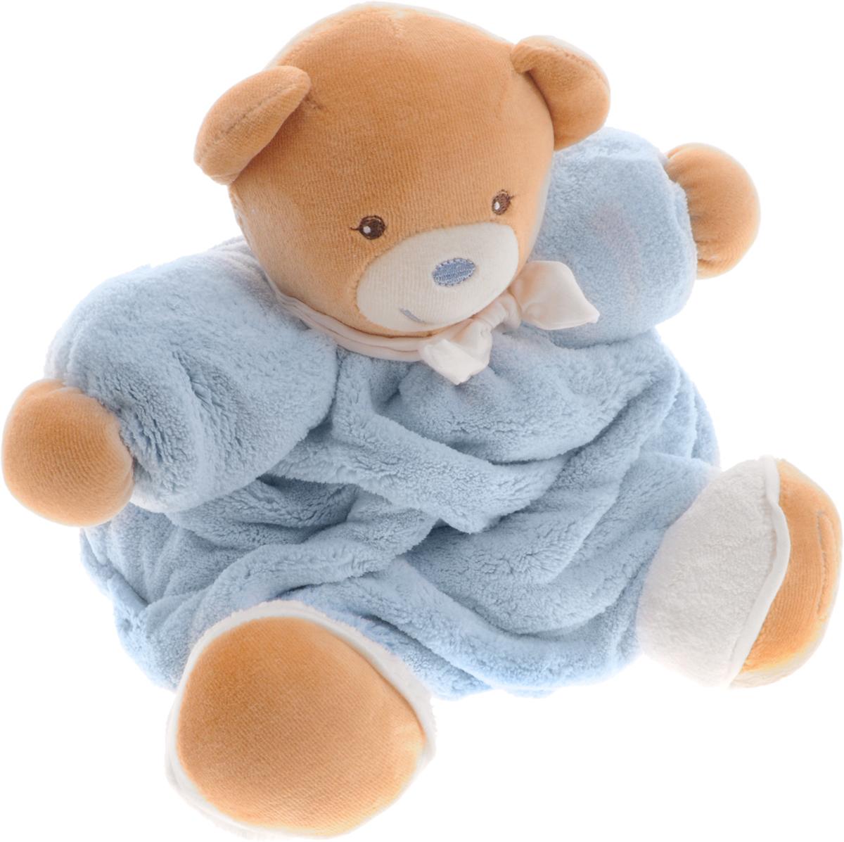 Kaloo Мягкая игрушка Мишка цвет голубой 22 смK969463Великолепный мягкий медвежонок голубого цвета Kaloo привлечет внимание малыша и надолго станет его постоянным спутником и любимой игрушкой. Игрушка выполнена из качественных и безопасных для здоровья детей материалов, которые не вызывают аллергии, приятны на ощупь и доставляют большое удовольствие во время игр. Игрушку приятно держать в руках, прижимать к себе и придумывать разнообразные игры. Игры с мягкими игрушками развивают тактильную чувствительность и сенсорное восприятие. Игрушка поставляется в стильной коробке и идеально подходит в качестве подарка.