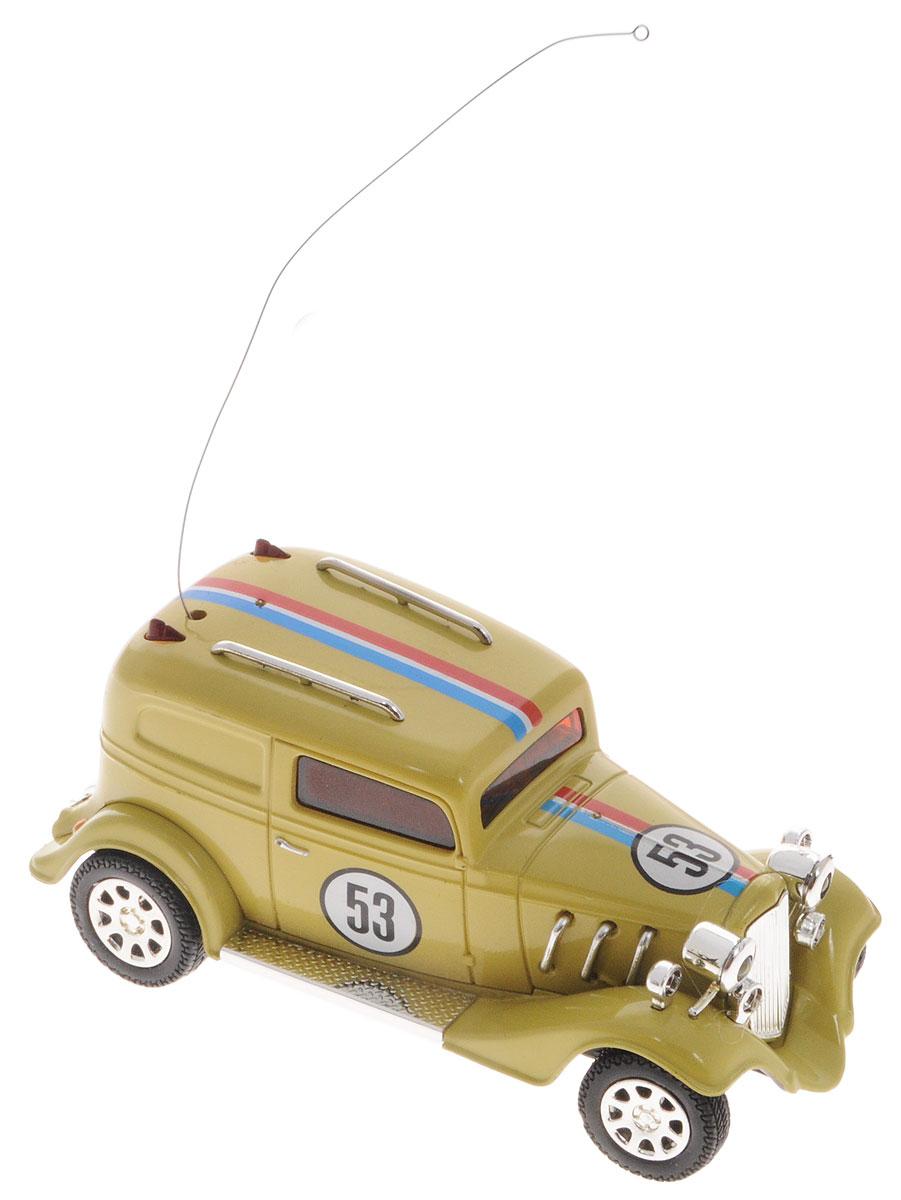 SPL-Technik Машина на радиоуправлении Oldtimer A321IG191Машина на радиоуправлении SPL-Technik Oldtimer A321, выполненная из прочных и безопасных материалов, привлечет внимание не только ребенка, но и взрослого. Машина при помощи пульта управления движется вперед-назад, поворачивает направо и налево, ускоряется. Пульт управления работает на частоте 27 MHz, а радиус его действия составляет 6-20 метров. Машина обладает высокой стабильностью движения, что позволяет полностью контролировать его процесс, управляя уверенно и без суеты. Машина станет отличным подарком не только автолюбителю, но и человеку, ценящему оригинальность и изысканность, а качество исполнения представит такой подарок в самом лучшем свете. Машина работает от встроенного аккумулятора. Зарядка аккумулятора происходит от пульта управления в течение 5 минут. Время работы машины 6-10 минут. Пульт управления работает от 4 батареек типа АA напряжением 1,5V (в комплект не входят).