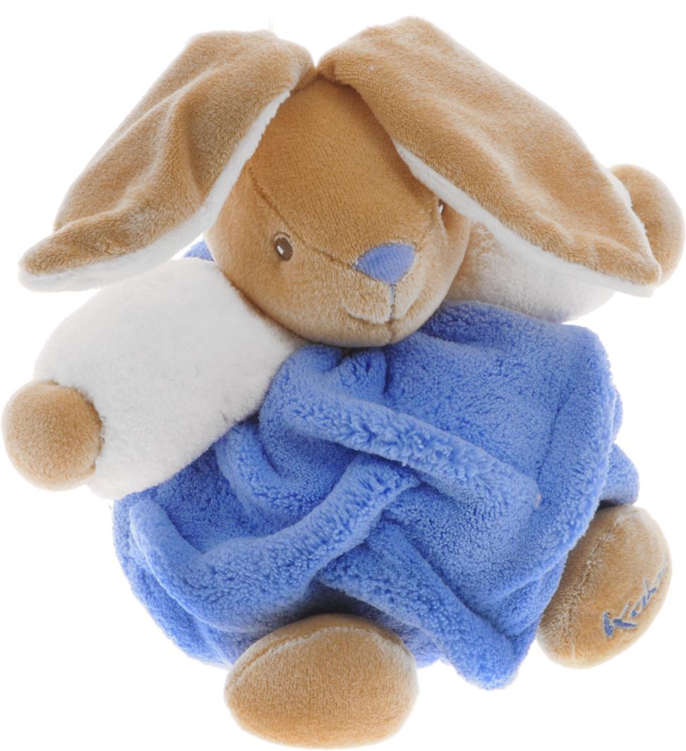Kaloo Мягкая игрушка Заяц цвет голубой 15 смK969470Симпатичная мягкая игрушка Kaloo Заяц привлечет внимание малыша и надолго станет его постоянным спутником и любимой игрушкой. Игрушка выполнена из качественных и безопасных для здоровья детей материалов, которые не вызывают аллергии, приятны на ощупь и доставляют большое удовольствие во время игр. Игрушку приятно держать в руках, прижимать к себе и придумывать разнообразные игры. Игры с мягкими игрушками развивают тактильную чувствительность и сенсорное восприятие. Игрушка поставляется в стильной коробке и идеально подходит в качестве подарка.