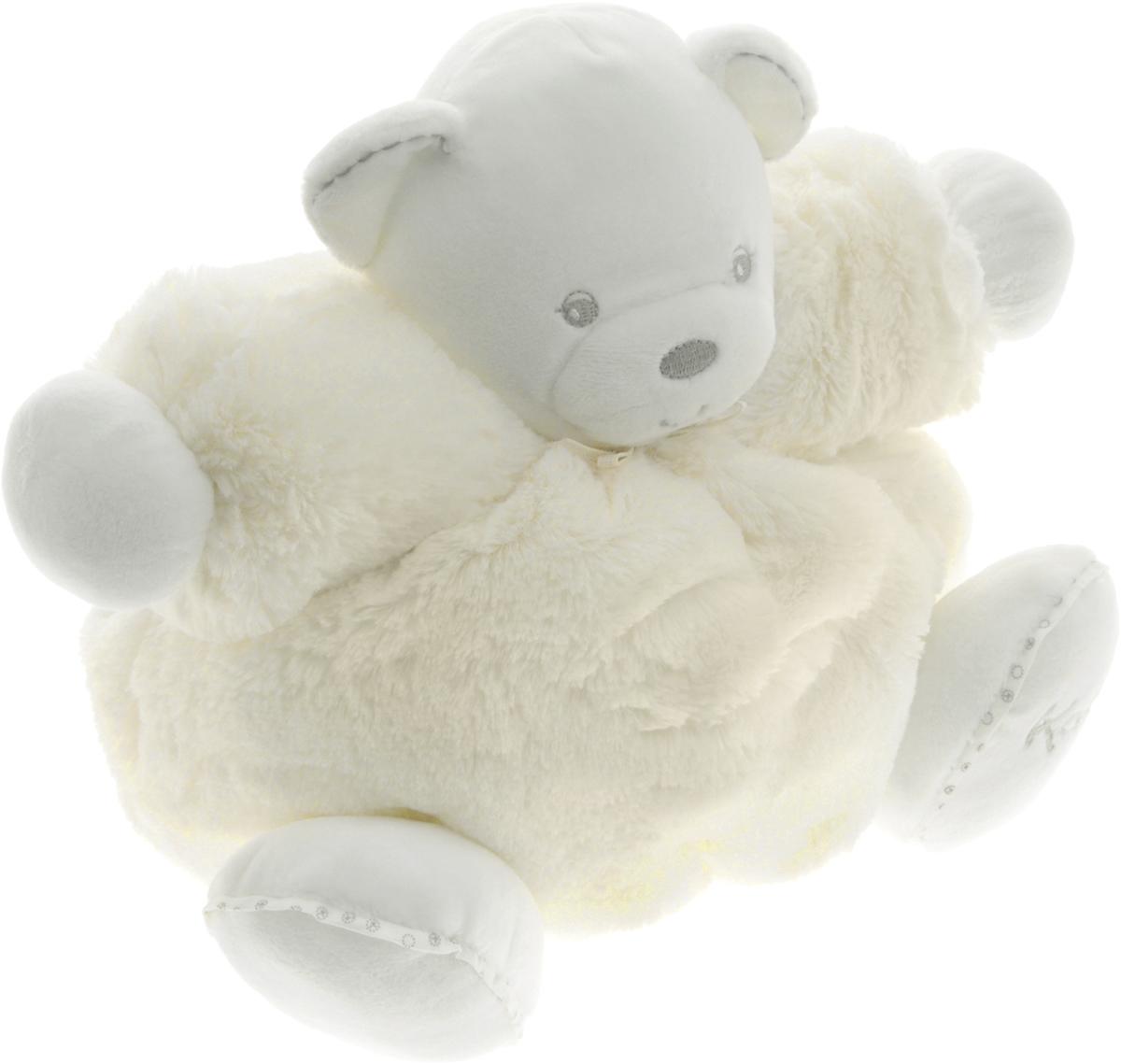 Kaloo Мягкая игрушка Мишка цвет кремовый 22 смK962144Великолепная мягкая игрушка Kaloo Мишка выполнена из качественных и безопасных для здоровья детей материалов, которые не вызывают аллергии, приятны на ощупь и доставляют большое удовольствие во время игр. Медвежонок представлен в кремовом цвете, на левой лапке - вышит фирменный логотип бренда. Внутри игрушки находится погремушка, которая успокоит малыша и привлечет его внимание. Игры с мягкими игрушками развивают тактильную чувствительность и сенсорное восприятие. После стирки изделие не деформируется и не меняет внешний вид. Все игрушки Kaloo прошли множественные тесты и соответствуют мировым стандартам безопасности. Именно поэтому игрушки рекомендованы для детей с рождения, что отличает их от большинства производителей мягких игрушек. Дизайнеры Kaloo продумывают и придают значение каждому этапу в производстве игрушек, начиная от эскиза и заканчивая упаковкой готового изделия.