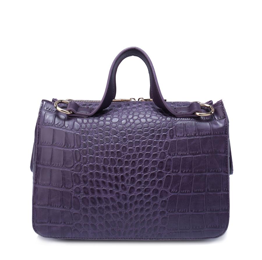 Сумка женская Ors Oro, цвет: фиолетовый. D-159/53D-159/53Сумка с одним отделением, на молнии, внутренний карман на молнии, карман для телефона