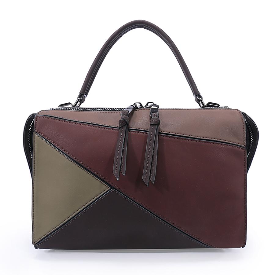 Сумка женская Ors Oro, цвет: коричневый. D-160/62D-160/62Сумка с одним отделением, на молнии, внутренний карман на молнии, карман для телефона, карман-перегородка на молнии.