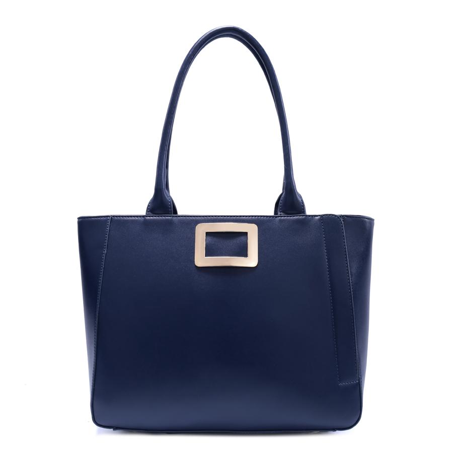 Сумка женская Ors Oro, цвет: синий. D-164/41D-164/41Сумка с одним отделением, на молнии, внутренний карман на молнии, карман для телефона