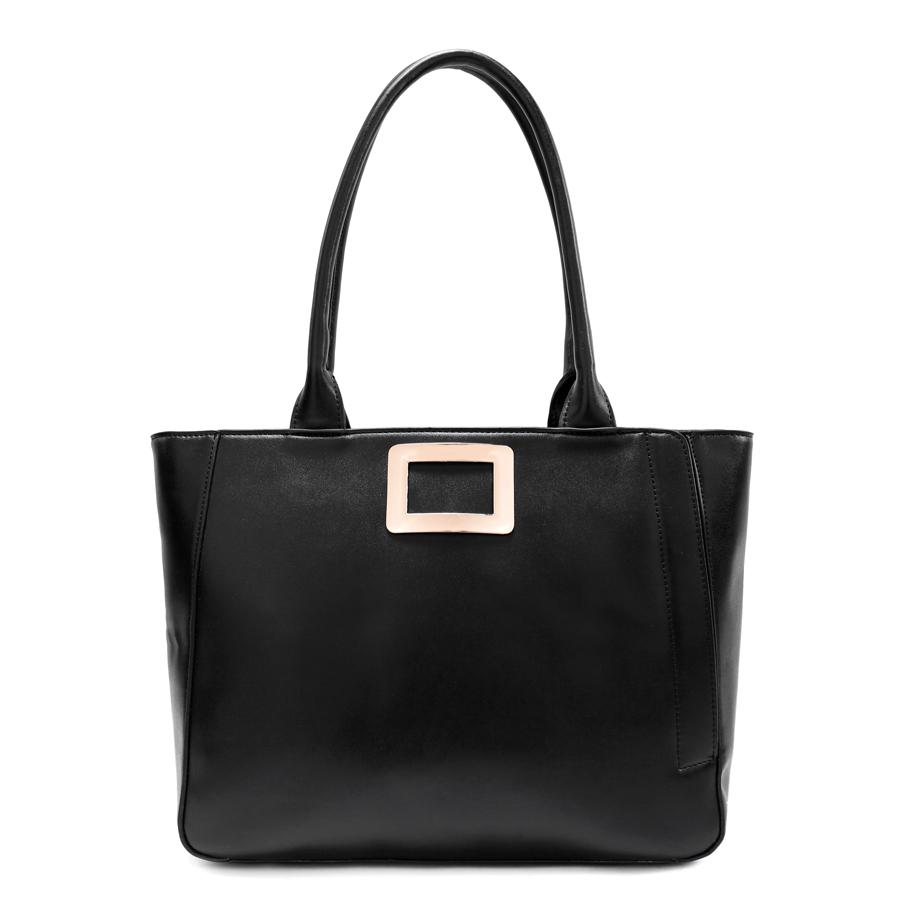 Сумка женская Ors Oro, цвет: черный. D-164/59D-164/59Сумка с одним отделением, на молнии, внутренний карман на молнии, карман для телефона