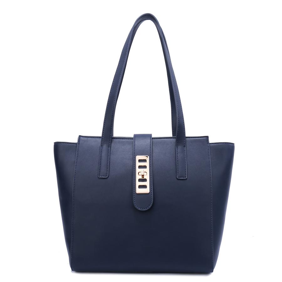 Сумка женская Ors Oro, цвет: синий. D-169/41D-169/41Сумка с одним отделением, на молнии, внутренний карман на молнии, карман для телефона, задний карман на молнии.