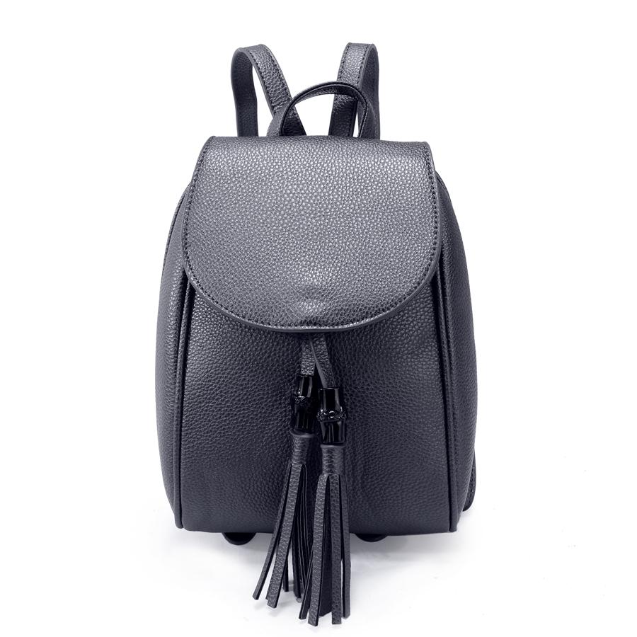 Рюкзак женский Ors Oro, цвет: стальной. D-172/46D-172/46Рюкзак с двумя отделениями на молнии,с клапаном на магнитной кнопке, плоский передний кармана. Внутренняя перегородка на молнии, внутренний карман на молнии, карман для телефона, задний карман на молнии