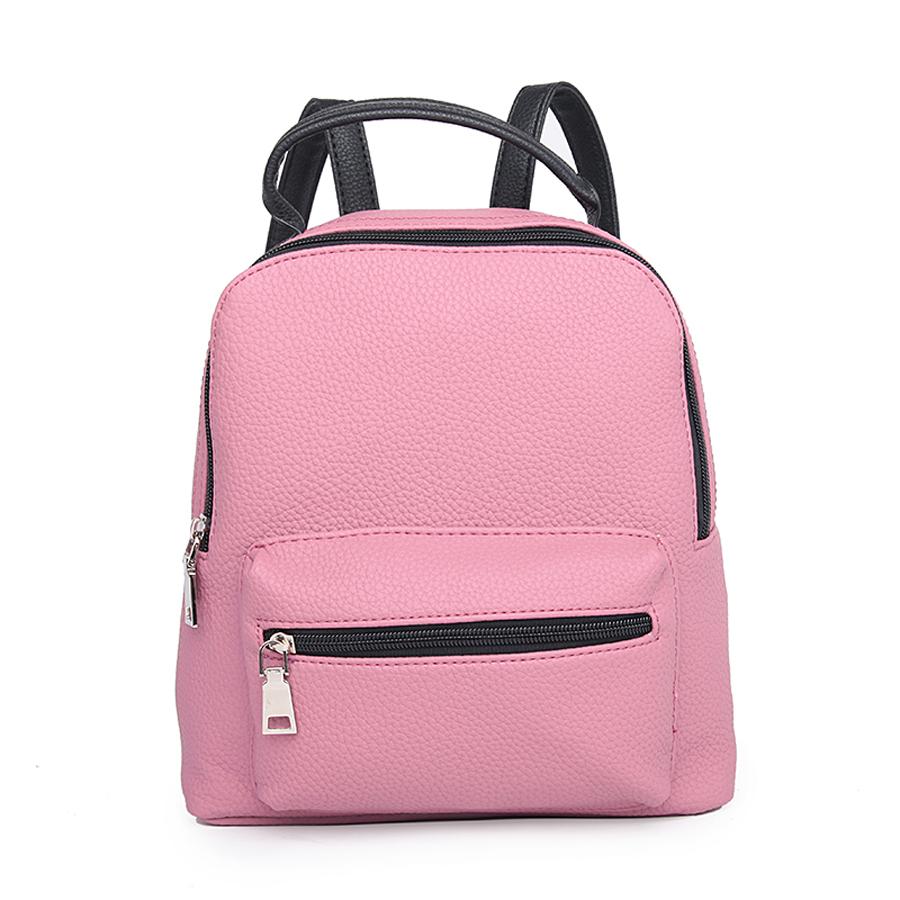 Рюкзак женский Ors Oro, цвет: палево-розовый. D-174/31D-174/31Рюкзак с одним отделением, на молнии, один объемный передний карман на молнии. Внутренний карман на молнии, карман для телефона