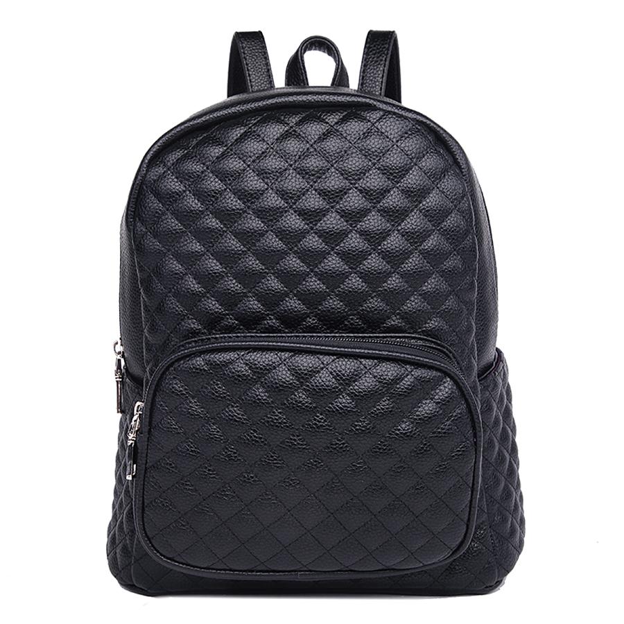 Рюкзак женский Ors Oro, цвет: черный. D-175/59D-175/59Рюкзак с одним отделением, на молнии, один объемный передний карман на молнии, два плоских боковых кармана. Внутренний карман на молнии, карман для телефона