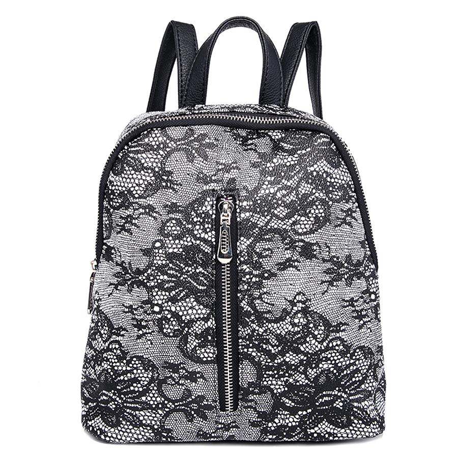 Рюкзак женский Ors Oro, цвет: мультиколор. D-176/27D-176/27Рюкзак с одним отделением, на молнии, один передний карман на молнии. Внутренний карман на молнии, карман для телефона