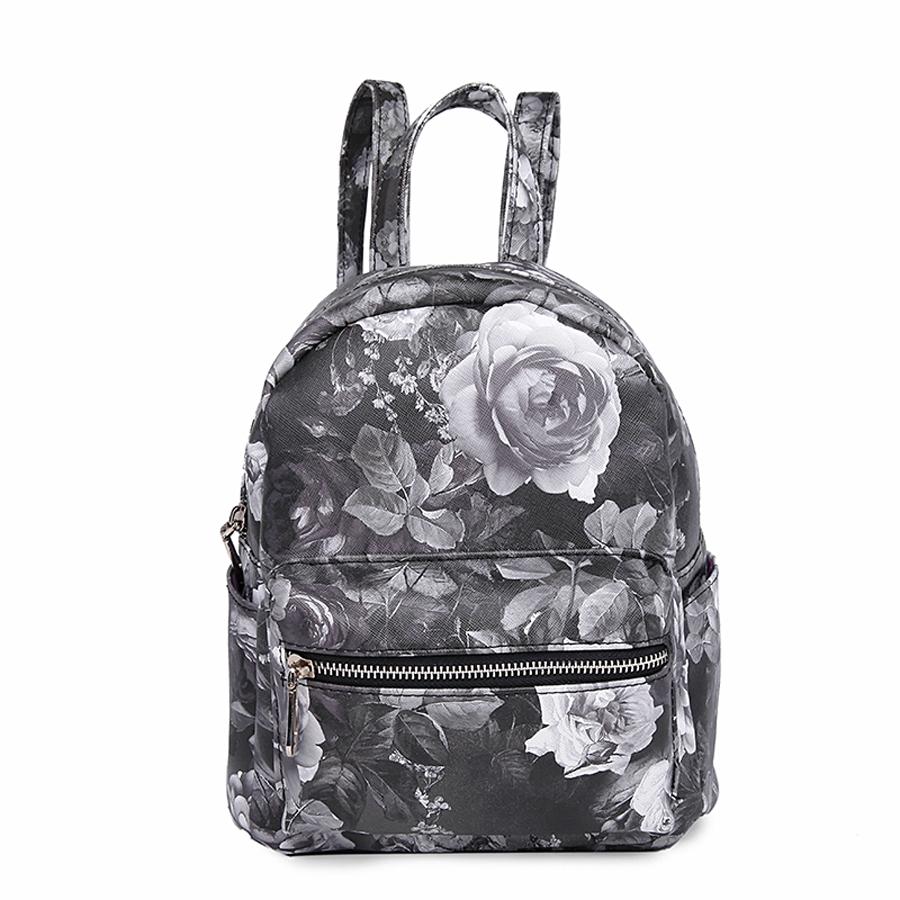 Рюкзак женский Ors Oro, цвет: черный. D-177/58D-177/58Рюкзак с одним отделением, на молнии, один объемный передний карман на молнии, два плоских боковых кармана. Внутренний карман на молнии, карман для телефона