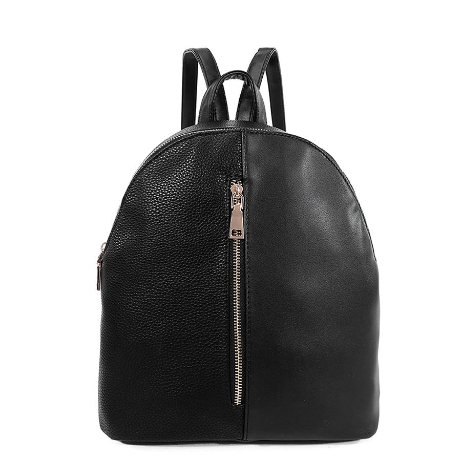 Рюкзак женский Ors Oro, цвет: черный. D-178/59D-178/59Рюкзак с одним отделением, на молнии, один передний карман на молнии. Внутренний карман на молнии, карман для телефона, задний карман на молнии