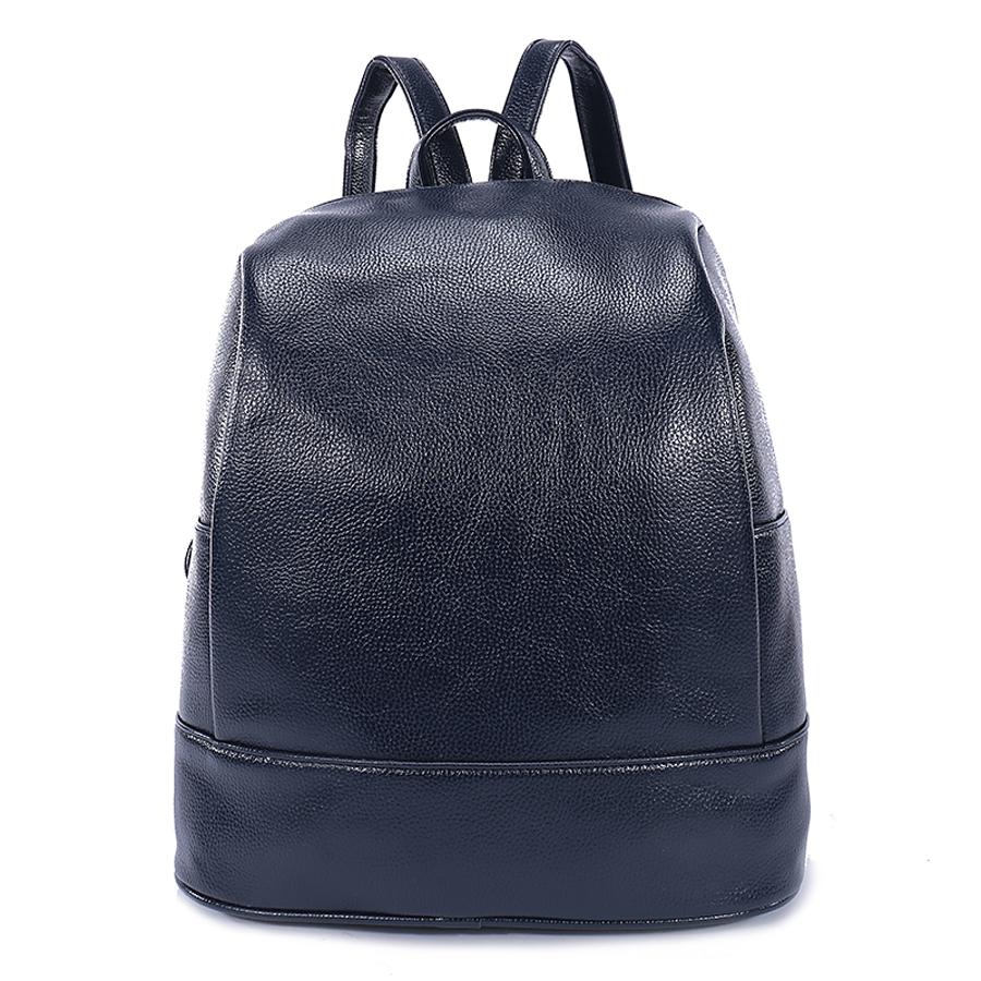 Рюкзак женский Ors Oro, цвет: темно-синий. D-180/50D-180/50Рюкзак с одним отделением, на молнии, два плоских боковых карманана. Внутренний карман на молнии, карман для телефона, задний карман на молнии, карман под iPad