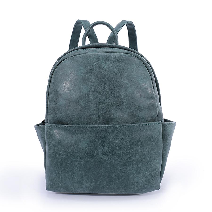 Рюкзак женский Ors Oro, цвет: малахит. D-181/29D-181/29Рюкзак с одним отделением, на молнии, один передний карман на молнии, два плоских боковых кармана. Внутренний карман на молнии, карман для телефона, задний карман на молнии, карман под iPad