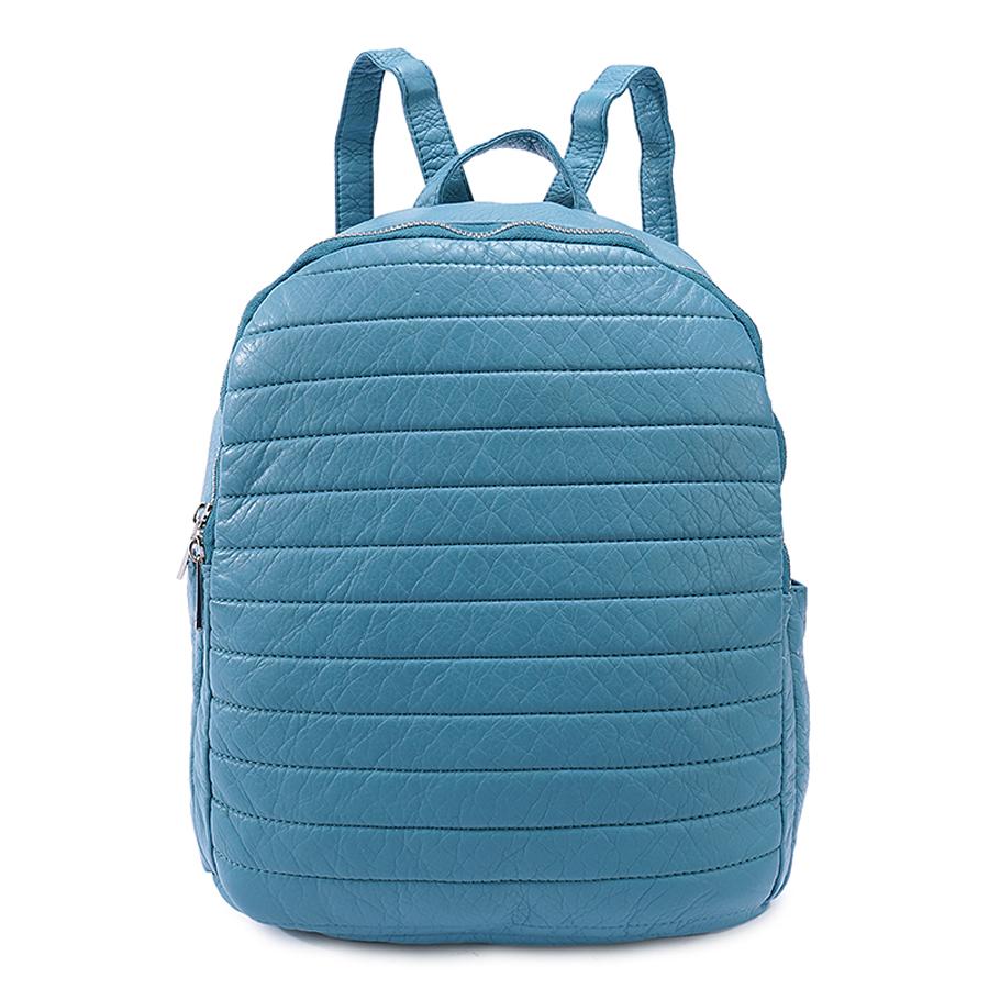 Рюкзак женский Ors Oro, цвет: серо-голубой. D-192/37D-192/37Рюкзак с двумя отделениями на молнии. Два плоских боковх кармана. Внутренний карман на молнии, карман для телефона, задний карман на молнии.