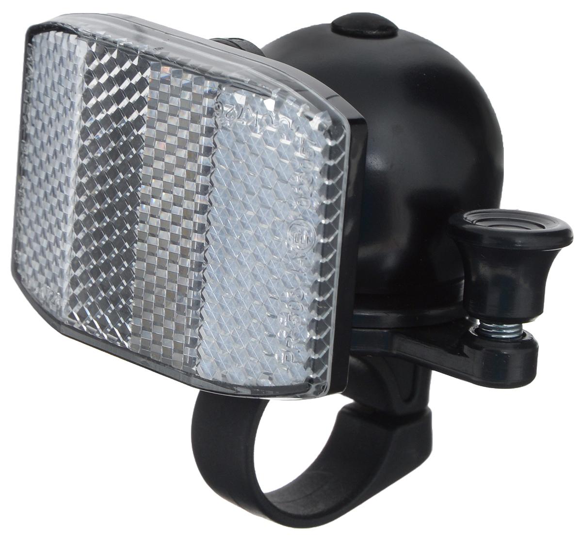Звонок-отражатель велосипедный OdinnJH-401B/B/13009Звонок Odinn крепится на руль велосипеда и позволяет привлечь внимание в опасных ситуациях. Он оснащен светоотражателем. Звонок выполнен из высокопрочных материалов, долговечен в использовании. Основным его назначением является предотвращения столкновения, как на дорогах общего пользования, так и на тротуарах.
