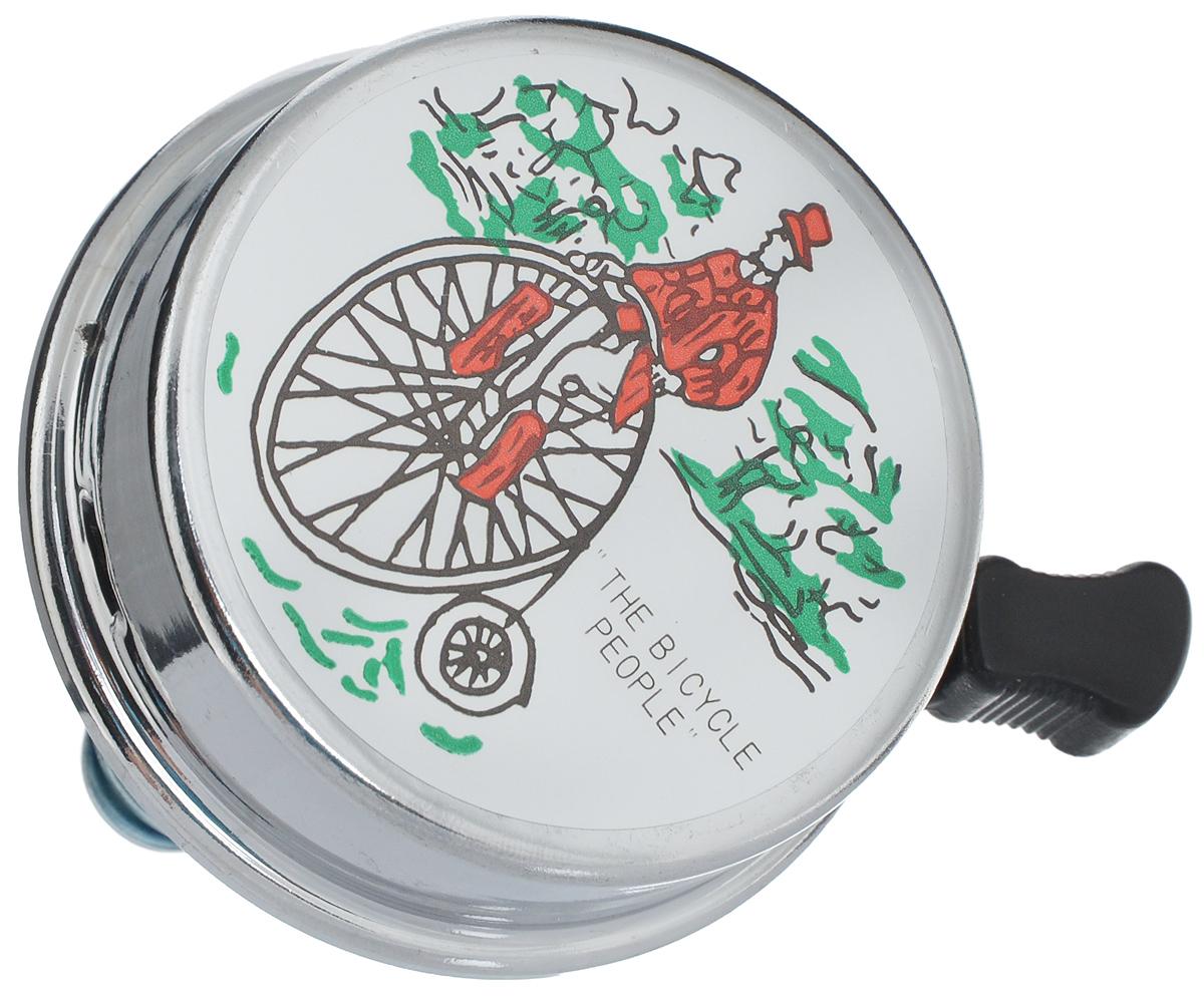 Звонок велосипедный Odinn РетроJH-230/13011Звонок Odinn Ретро крепится на руль велосипеда и позволяет привлечь внимание. Звонок выполнен из высокопрочных материалов, долговечен в использовании. Основным его назначением является предотвращения столкновения, как на дорогах общего пользования, так и на тротуарах. Диаметр звонка: 6 см.