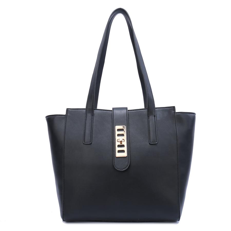 Сумка женская Ors Oro, цвет: черный. D-169/59D-169/59Сумка с одним отделением, на молнии, внутренний карман на молнии, карман для телефона, задний карман на молнии.