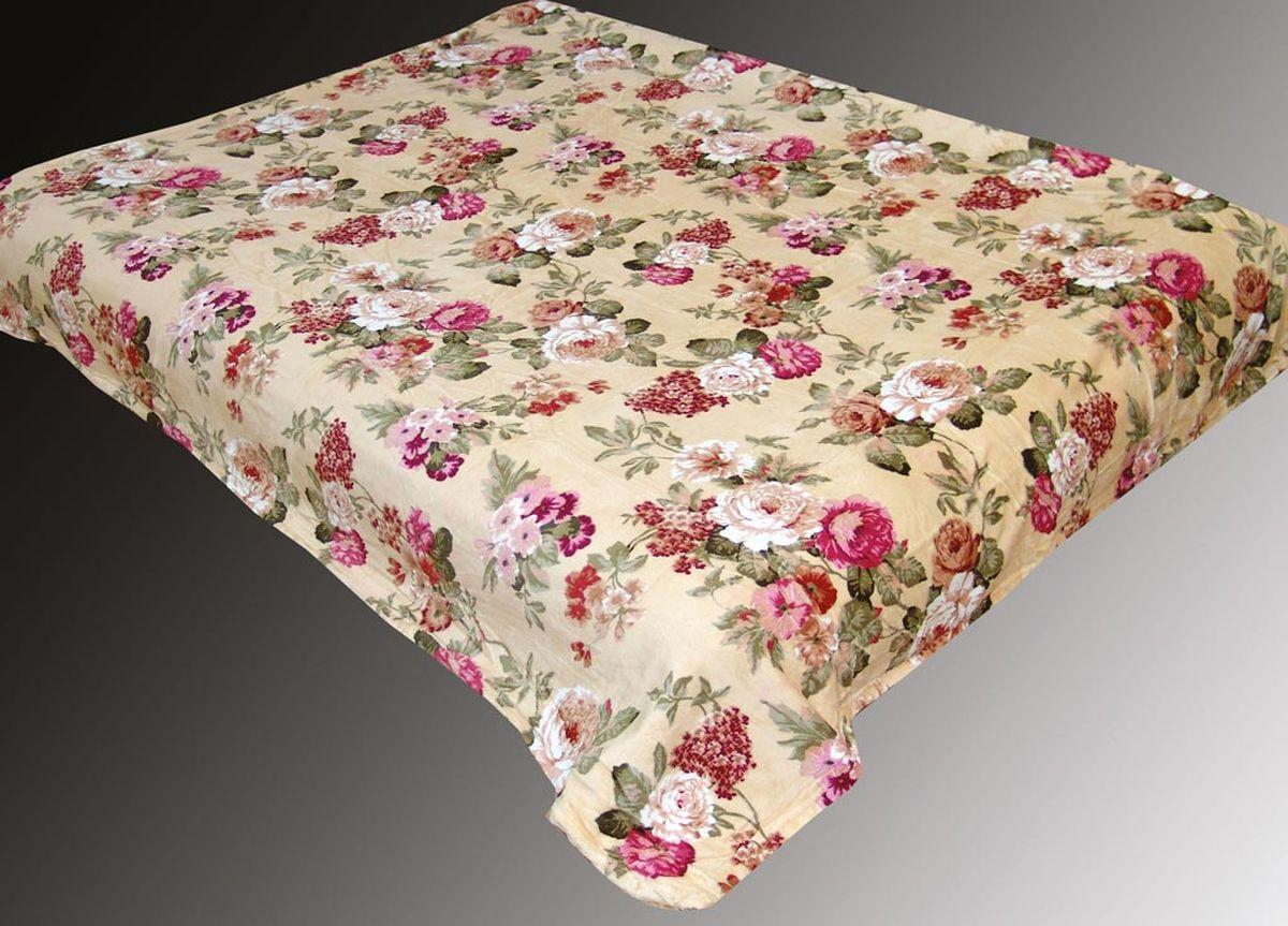 Плед ТД Текстиль Absolute, печатный, 180 х 230 см, цвет: голубой86061плотность 290 гр/м2