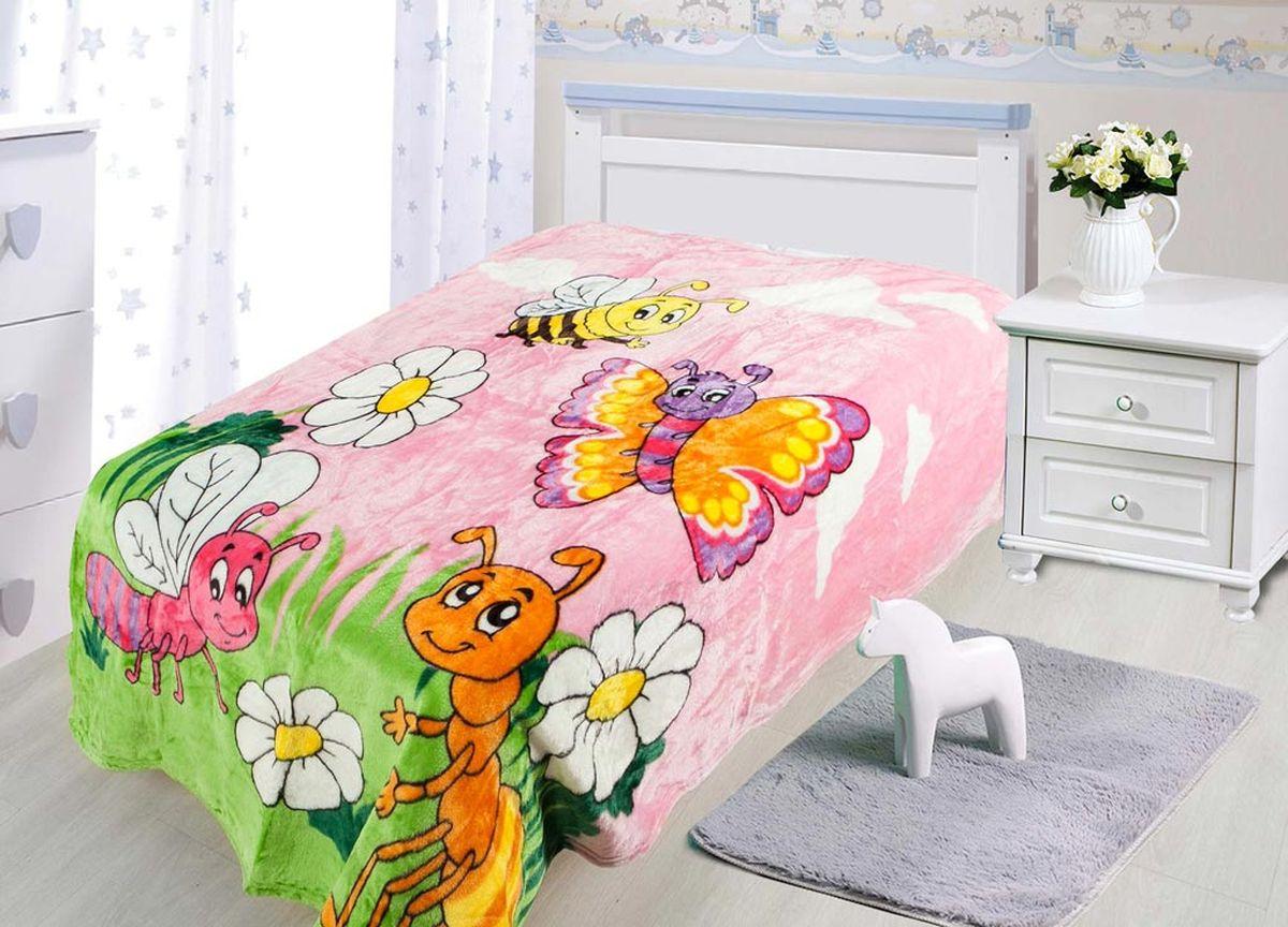 Плед ТД Текстиль Absolute, печатный, 180 х 230 см, цвет: бежевый, коричневый86082плотность 230 гр/м2