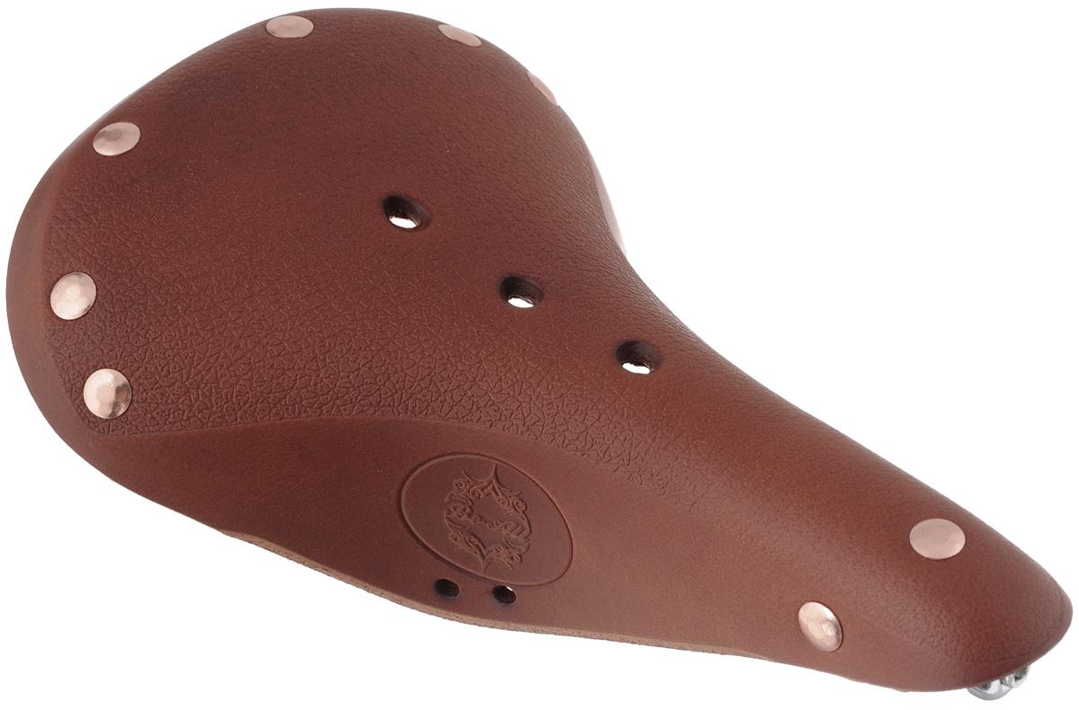 Седло велосипедное Be-All Type W, цвет: коричневый, стальной, 28 х 17 смTYPE W HONNYУниверсальное велосипедное седло анатомическая формы Be-All Type W обладает повышенным комфортом и имеет облегченная конструкцию. Специальный наполнитель, выполненный из вспененного полимера, обеспечивает мягкость и сохранение формы седла. В комплект входит мешок для хранения и транспортировки, 2 гаечных ключа для крепления седла и инструкция по установке.