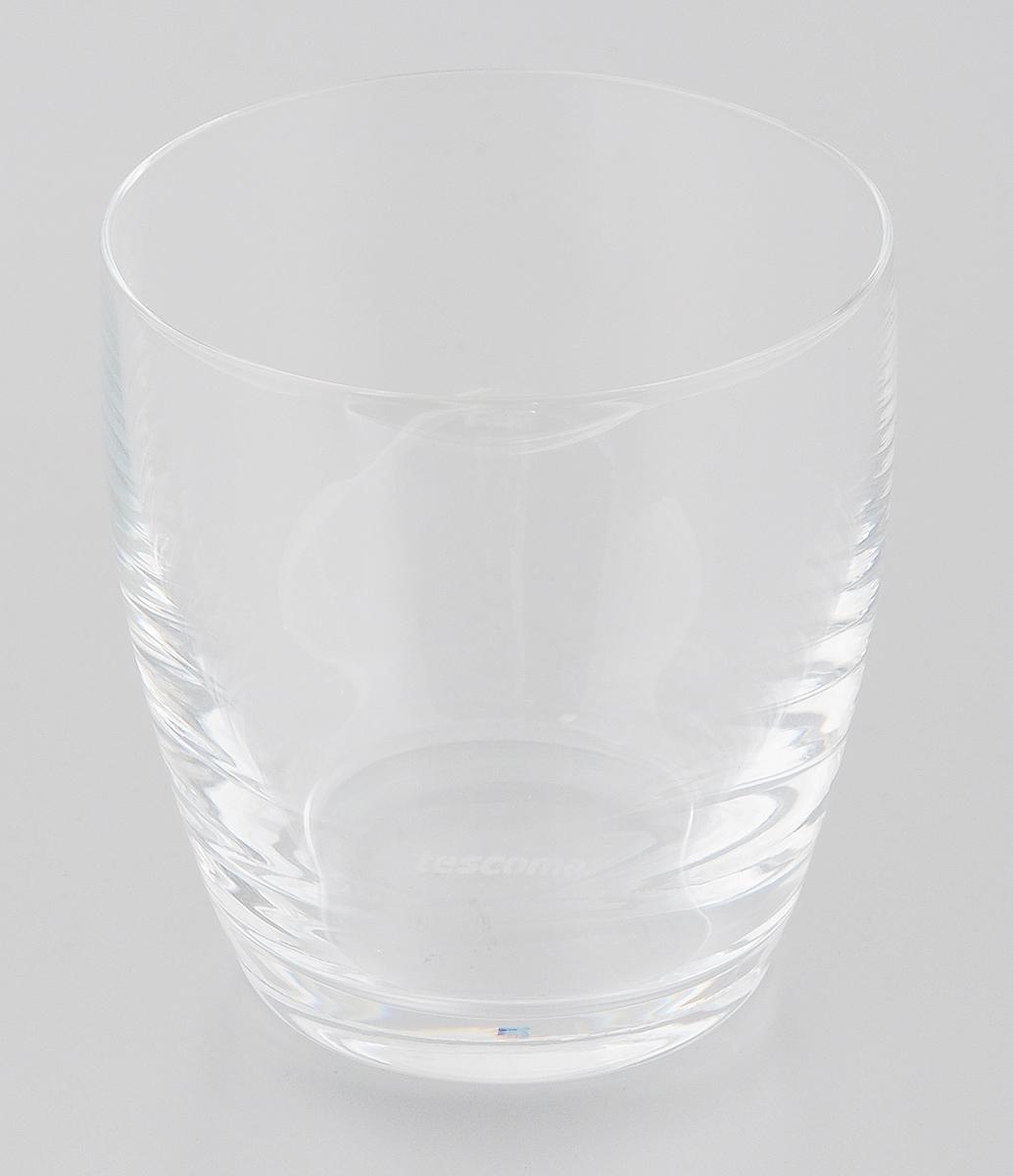 Стакан Tescoma Crema, 350 мл306250Стакан Tescoma Crema, изготовлен из прочного боросиликатового стекла, прекрасно дополнит интерьер вашей кухни. Изящный дизайн стакана придется по вкусу и ценителям классики, и тем, кто предпочитает утонченность и изысканность. Стакан Tescoma Crema станет хорошим подарком к любому празднику. Изделие пригодно для микроволновой печи, холодильника, морозильника и посудомоечной машины. Диаметр (по верхнему краю): 8 см. Высота: 9 см.