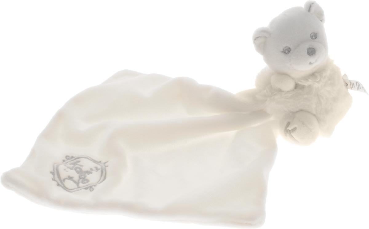 Kaloo Игрушка-комфортер Мишка цвет светло-кремовыйK962161Уникальный аксессуар - игрушка-комфортер Kaloo Мишка позволит малышу спокойно и сладко уснуть, на долгое время станет его постоянным спутником. Особенность игрушки-комфортера состоит в том, что сначала маме необходимо некоторое время подержать игрушку рядом с собой для того, чтобы она впитала материнский запах. После чего игрушку можно дать и малышу. Младенцу будет очень комфортно засыпать с такой игрушкой, она позволит ему быстро успокоиться и сладко заснуть. Со временем комфортер станет не просто игрушкой для сна, но и любимым защитником от плохих сновидений и детских страхов. Игрушку приятно держать в руках и прижимать к себе. Игрушка выполнена из качественных и безопасных для здоровья детей материалов, которые не вызывают аллергии, приятны на ощупь и доставляют большое удовольствие во время игр. Все игрушки Kaloo прошли множественные тесты и соответствуют мировым стандартам безопасности. Именно поэтому игрушки рекомендованы для детей с рождения, что отличает их от...