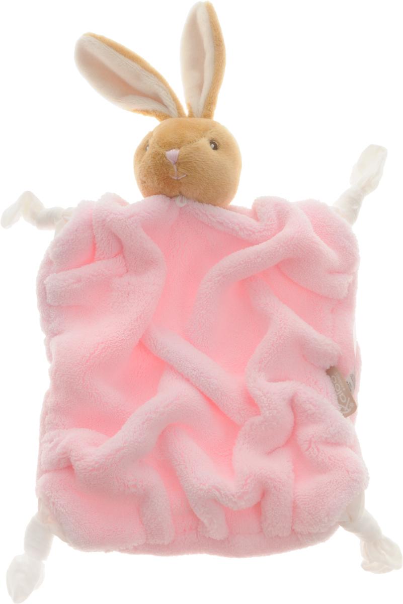 Kaloo Игрушка-комфортер Заяц цвет светло-коричневый розовыйK962307Игрушка-комфортер Kaloo Заяц позволит малышу спокойно и сладко уснуть, и на долгое время станет его постоянным спутником. Особенность игрушки-комфортера состоит в том, что сначала маме необходимо некоторое время подержать игрушку рядом с собой для того, чтобы она впитала материнский запах. После чего игрушку можно дать и малышу. Малышу будет очень комфортно засыпать с такой игрушкой, она позволит ему быстро успокоиться и сладко заснуть. Со временем комфортер станет не просто игрушкой для сна, но и любимым защитником от плохих сновидений и детских страхов. Игрушку приятно держать в руках и прижимать к себе. Игрушка выполнена из качественных и безопасных для здоровья детей материалов, которые не вызывают аллергии, приятны на ощупь и доставляют большое удовольствие во время игр.