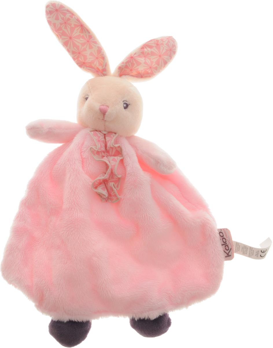 Kaloo Игрушка-комфортер Заяц цвет розовый makita dcs4630 45