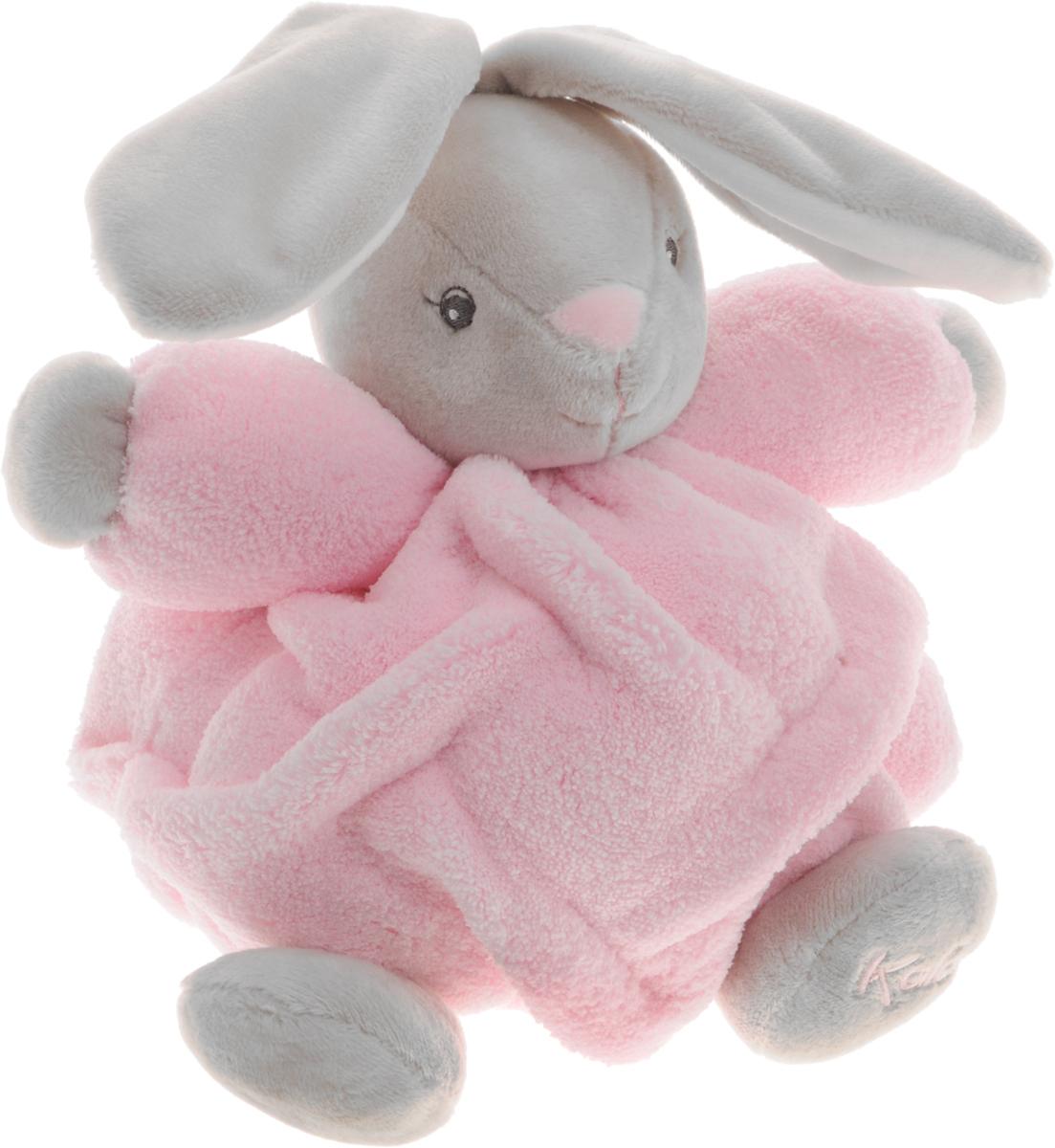 Kaloo Мягкая музыкальная игрушка Заяц цвет розовый серый 17 смK962314Очаровательный мягкий музыкальный зайчонок Kaloo надолго станет постоянным спутником малыша и позволит ему сладко уснуть. Игрушка выполнена из качественных и безопасных для здоровья детей материалов, которые не вызывают аллергии, приятны на ощупь и доставляют большое удовольствие во время игр. Игрушку приятно держать в руках, прижимать к себе и придумывать разнообразные игры. Игры с мягкими игрушками развивают тактильную чувствительность и сенсорное восприятие. Зайчик выполнен в нежных цветах. На обратной стороне игрушки находится маленькая ленточка, потянув за которую, малыш услышит мелодичную колыбельную. Все игрушки Kaloo прошли множественные тесты и соответствуют мировым стандартам безопасности. Именно поэтому все игрушки рекомендованы для детей с рождения, что отличает их от большинства производителей мягких игрушек. Игрушка поставляется в стильной коробке и идеально подходит в качестве подарка.